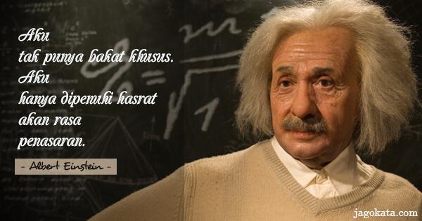 217 Kata Kata Albert Einstein Jagokata