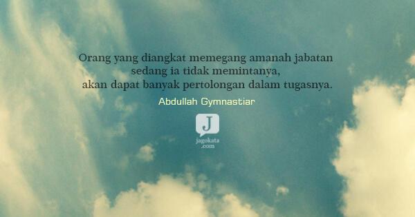 332 Kata Kata Abdullah Gymnastiar Jagokata