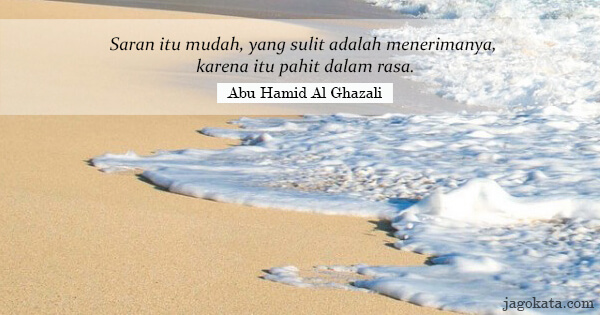 55 Kata Kata Abu Hamid Al Ghazali Jagokata