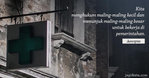 kata kata pemerintahan jagokata