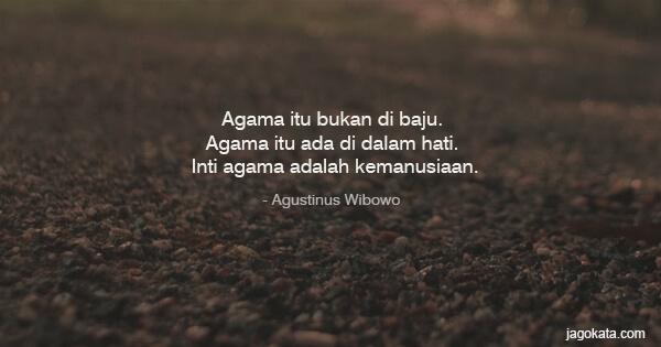Agustinus Wibowo Kutipan Kata Bijak Kata Mutiara