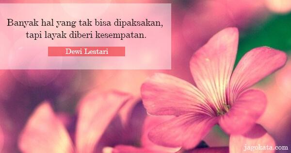 116 Kata Kata Dewi Lestari Jagokata