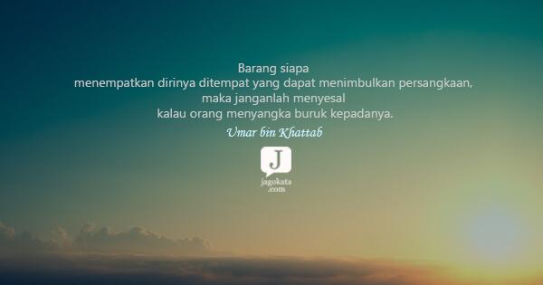 9 Kata Kata Umar Bin Khattab Jagokata